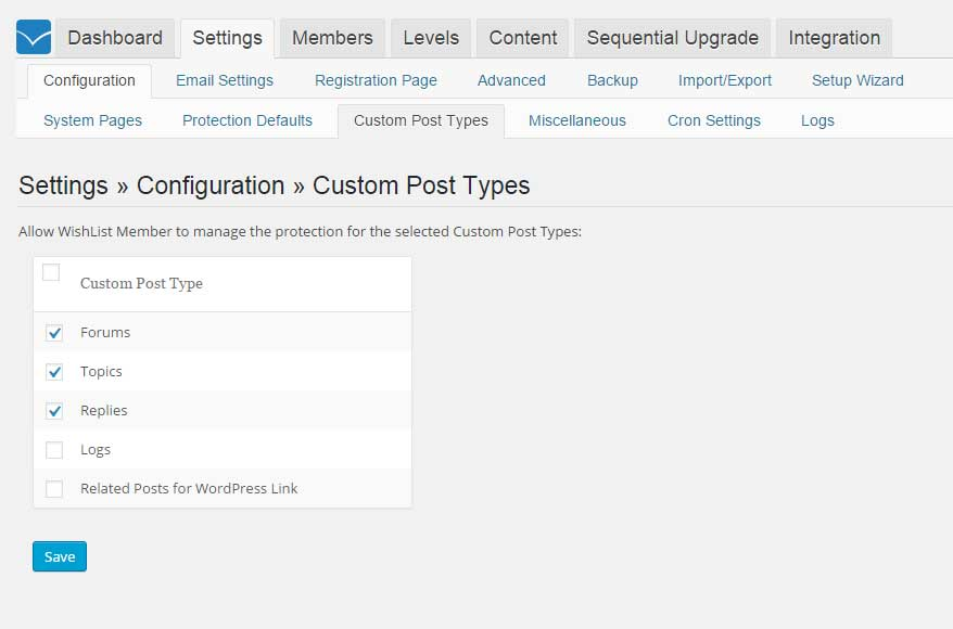 bbPress Custom Post Types